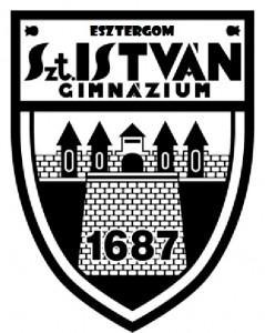 Szent István Gimnázium logo